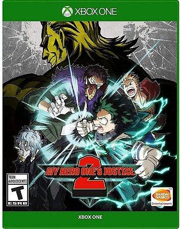 My Hero Ones Justice 2  Xbox One Mídia Física