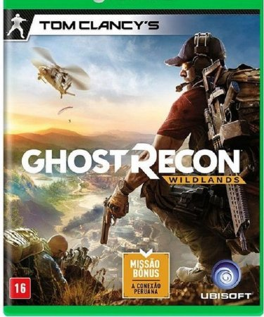 Tom Clancy's Ghost Recon Wildlands Xbox One - Mídia Física