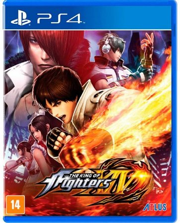 The King of Fighters PS4 - Mídia Física