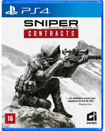 Sniper Ghost Warrior Contracts PS4 Mídia Física