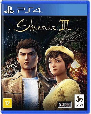 Shenmue III PS4 - Mídia Física