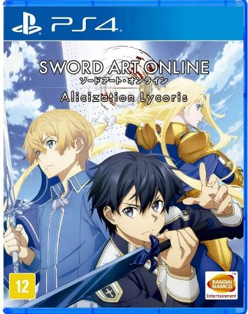 Sword Art Online: Alicization Lycoris  PS4 - Mídia Física