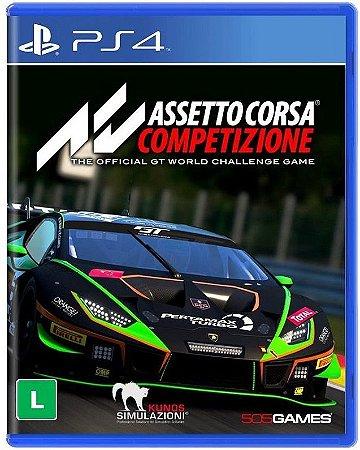 Assetto Corsa Competizione PS4 - Mídia Física