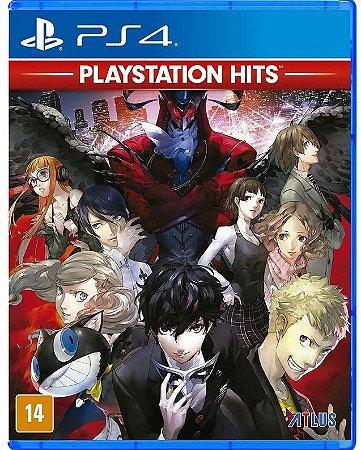 Persona 5 Hits PS4 Mídia Física