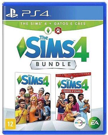 The Sims 4 Bundle: Cães e Gatos PS4 - Mídia Física