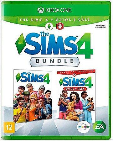 The Sims 4 Bundle Cães e Gatos Xbox One Mídia Física
