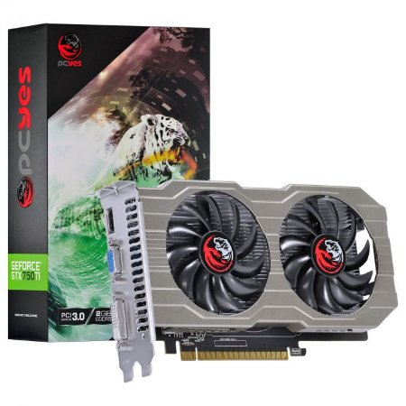 Placa de Vídeo Nvidia Geforce GTX 750 TI 2GB GDDR5 128 Bits