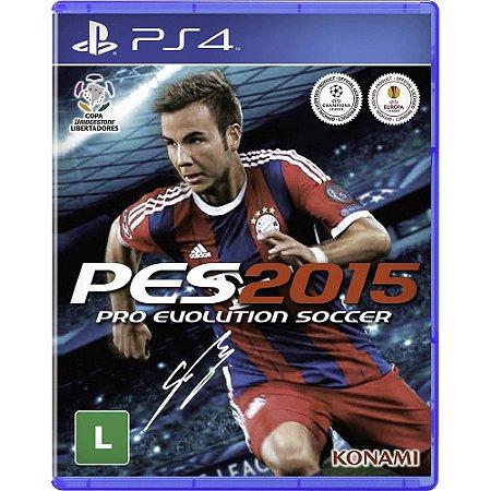 Pes 2015 PS4 - Usado