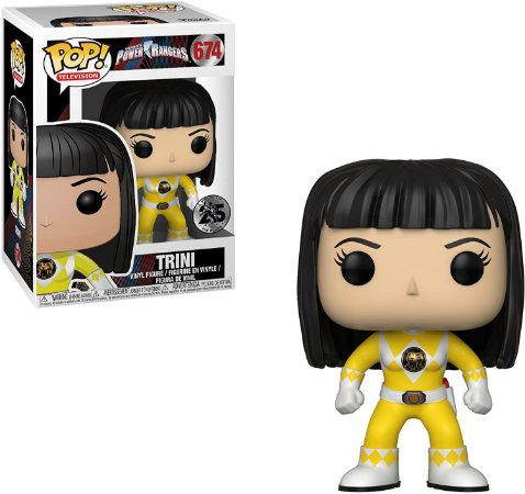 Funko Yellow Ranger No Helmet