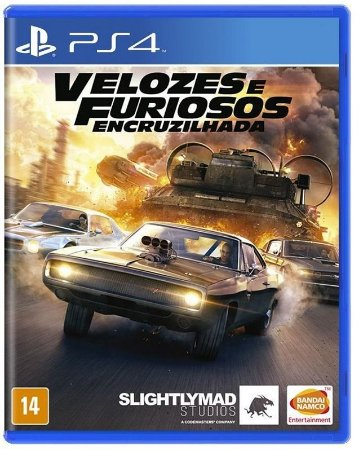 Velozes e Furiosos Encruzilhada PS4 Mídia Física