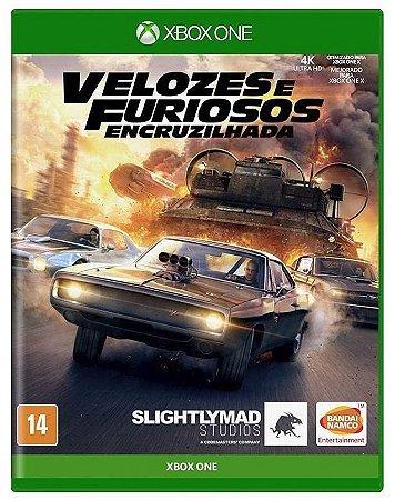 Velozes e Furiosos: Encruzilhada Xbox One - Mídia Física