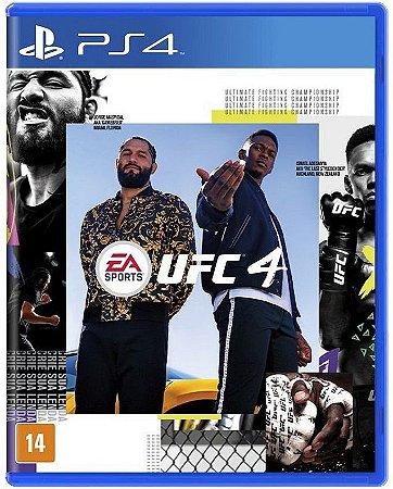 UFC 4 PS4 - Mídia Física