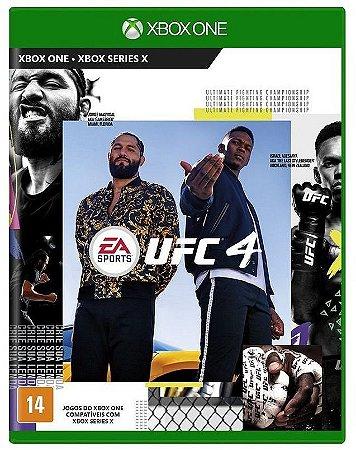 UFC 4 Xbox One Mídia Física