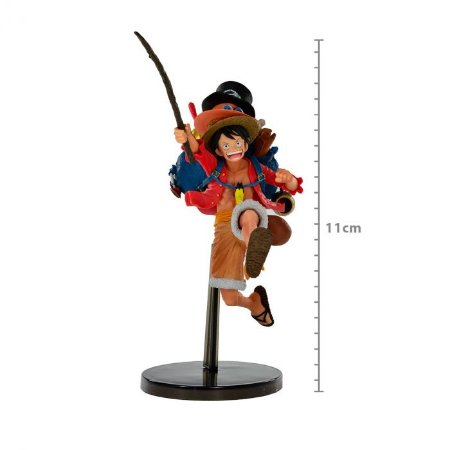 Figure One Piece Three Brothers Monkey D Luffy