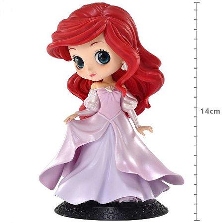 Figure Q Posket Disney Characters  Ariel Princess Dress