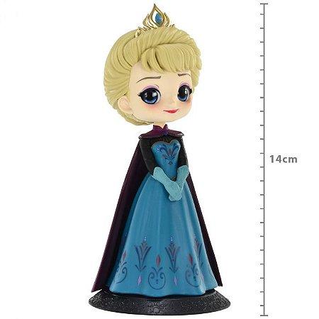 Figure Q Posket Disney Characters Elsa Coronation