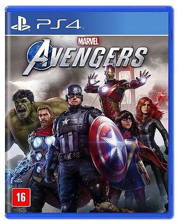 Marvels Avengers PS4 Mídia Física