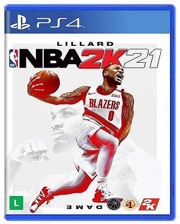 NBA 2K21 PS4 - Mídia física