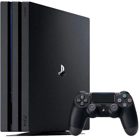 Console Playstation 4 Pro 1 TB Controle Wireless DualShock 4