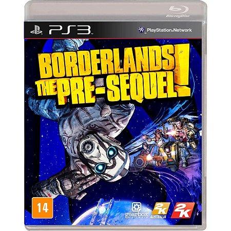 Borderlands The PreSequel PS3 Mídia Física