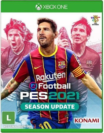 Pro Evolution Soccer PES 21 Xbox One Mídia Física
