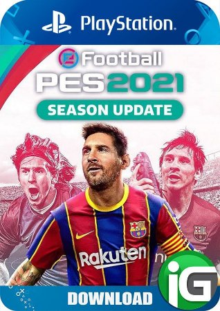 Pro Evolution Soccer (PES) 21 PS4 Digital