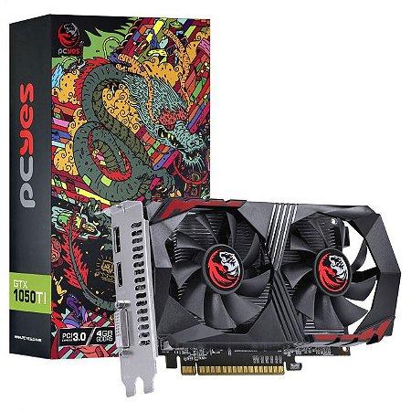 Placa de Vídeo Nvidia Geforce GTX 1050 TI 4GB GDDR5 128 Bits Dual-fan - Graffiti Series