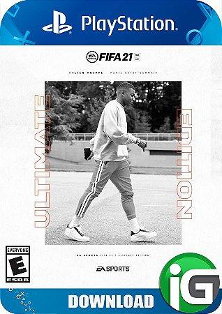 FIFA 21 Edição Ultimate - PS4