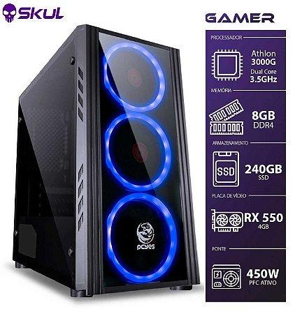 Computador Gamer 1000 Athlon 3000G 3.5GHZ MEM. 8GB DDR4