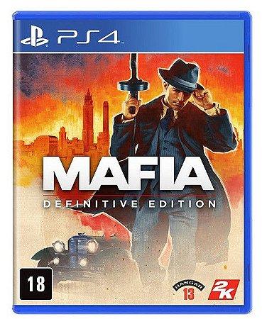 Mafia Definitive Edition PS4 Mídia Física