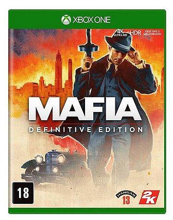 Mafia Definitive Edition Xbox One Mídia Física