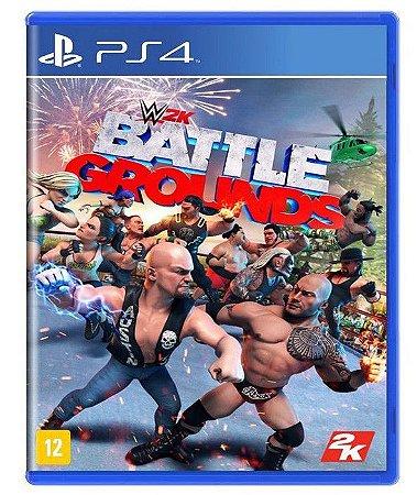 WWE 2K Battlegrounds PS4 - Mídia Física