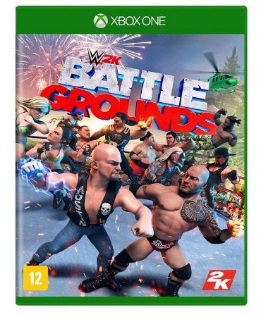 WWE 2K Battlegrounds Xbox One Mídia Física