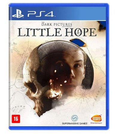 The Dark Pictures Anthology Little Hope PS4 Mídia Física