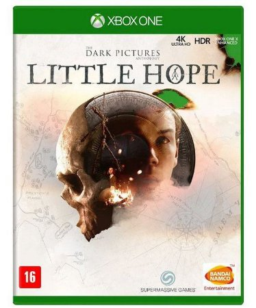 The Dark Pictures Anthology Little Hope Xbox One Mídia Física
