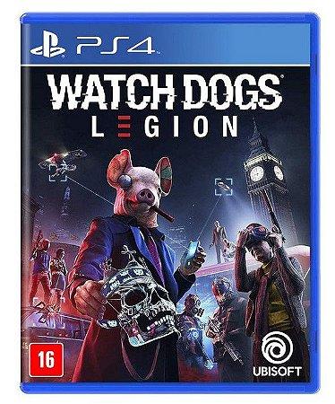 Watch Dogs Legion PS4 Mídia Física