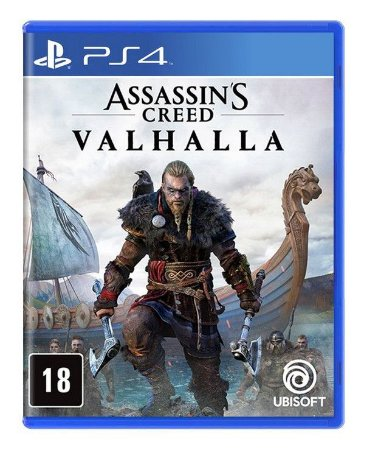 Assassin's Creed: Valhalla PS4 - Mídia Física