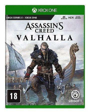 Assassin's Creed: Valhalla Xbox One Mídia Física