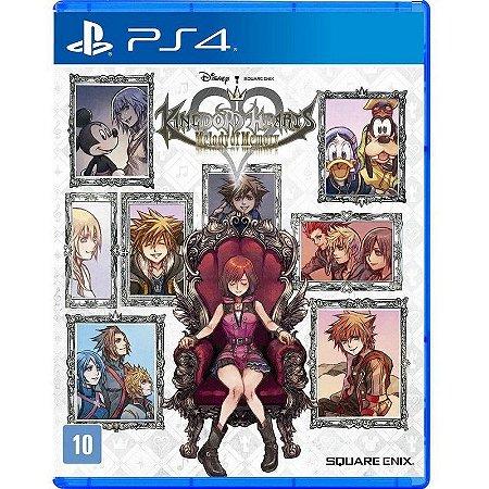 Kingdom Hearts: Melody of Memory PS4 - Mídia Física