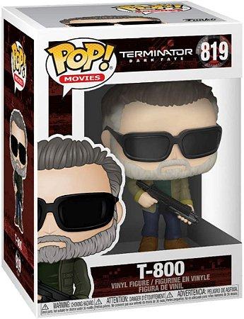 Boneco Funko Pop Terminator Dark Fate T-800 #819