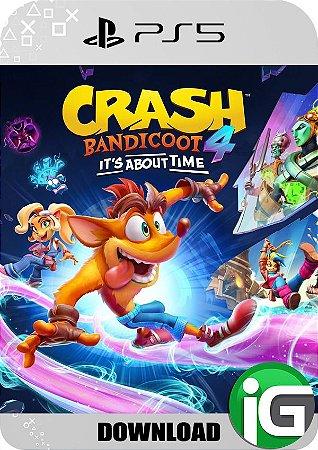 Crash Bandicoot 4: It's About Time - PS5 Mídia Digital