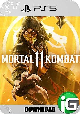 Mortal Kombat 11 - PS5 Mídia Digital