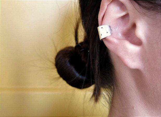 EAR CUFF CHAPA LARGA PENEIRA