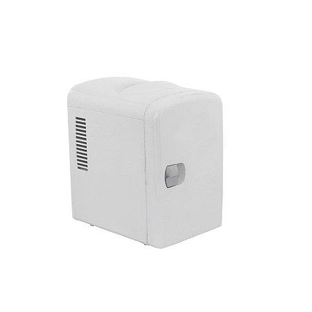 Mini Refrigerador e Aquecedor Kx3 Portátil 12V 110/220V 4L Branca