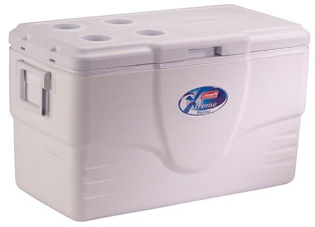 Caixa Térmica Coleman 70 QT / 66 Litros Marine Xtreme Branca