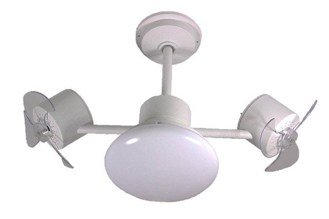 Ventilador de Teto Treviso Infinit Plus Branco com iluminação LED