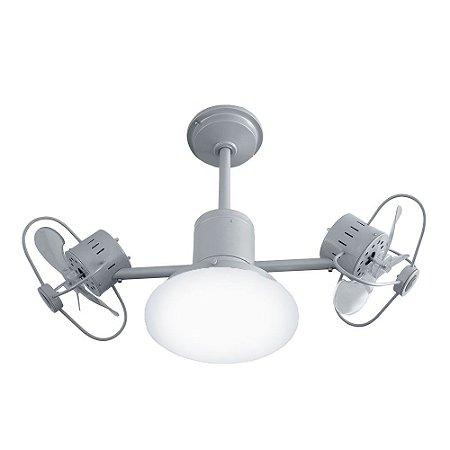 Ventilador de Teto Treviso Infinit Plus Prata com iluminação LED