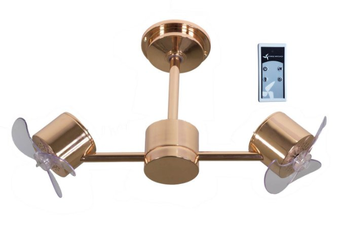 Ventilador de Teto Treviso Infinit Cobre com Controle Remoto