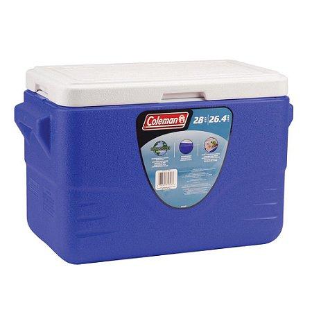Caixa Térmica Coleman 28 QT 26,6 Litros Azul