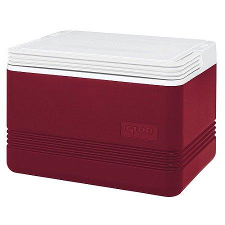 Caixa Térmica Igloo  Legend 12 latas  9 Litros  Vermelha